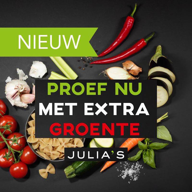 groente trend bij Julia's pasta door Vision on Food